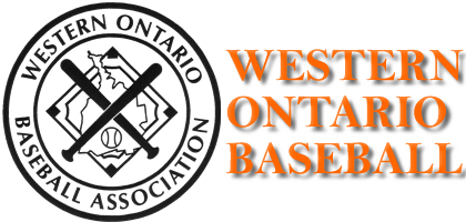 Logo for Western Ontario Baseball Association (WOBA)